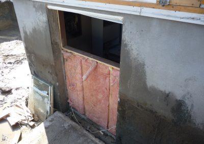 Ouverture de mur en pierre, brique ou béton pour porte | Sciage de béton J.Vaillancourt et fils inc.