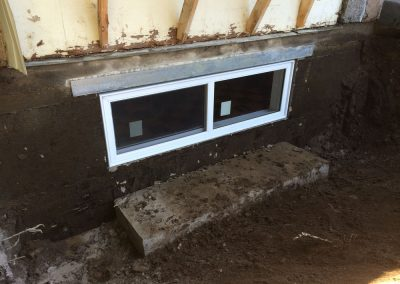 Ouverture de mur en béton pour fenêtre Terrebonne  | Sciage de béton J.Vaillancourt et fils inc.