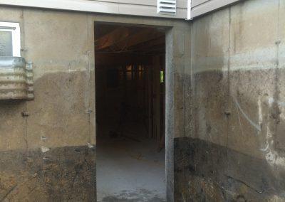 Ouverture de mur en beton pour porte | Sciage de béton J.Vaillancourt et fils inc.