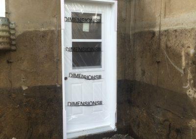Ouverture de mur en beton pour porte Terrebonne | Sciage de béton J.Vaillancourt et fils inc.