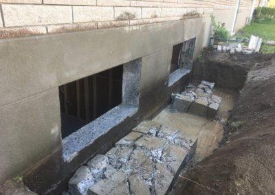 Agrandissement de fenêtre terrebonne - Siage de beton JV
